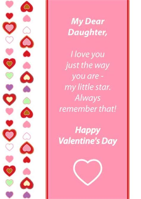 happy valentines day to my daughters quotes for valentines day quotesgram