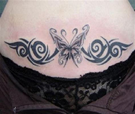 butterfly tattoo lower stomach tribal butterfly picture tattoo on lower stomach tattoo