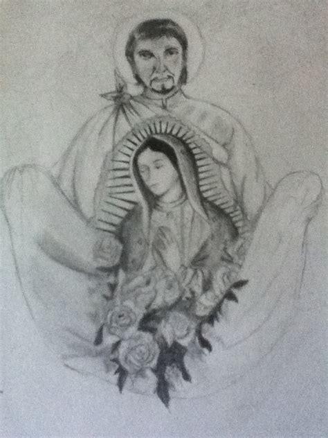 imagenes para dibujar a la virgen de guadalupe juan diego y la virgen de guadalupe by crossing borders