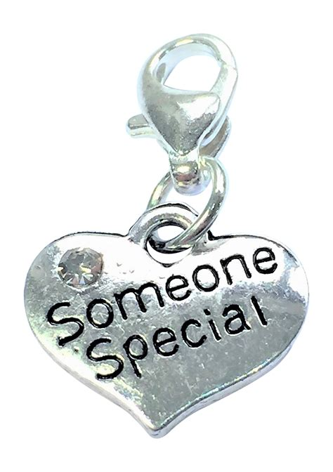 soemone special clip on charm