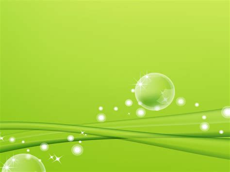 powerpoint templates green ons