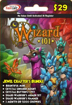Majestic Gift Card - item jewel crafter s bundle gift card wizard101 wiki