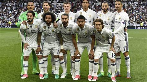 fotos del real madrid jugadores real madrid valora el partido de los jugadores del madrid