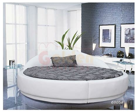 King Size Red Round Bed On Sale O6801#   Buy King Size Round Bed,Round Bed,Red King Round Bed