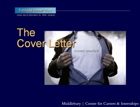 cover letter middlebury college resumes cover letters middlebury