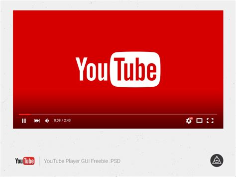 download youtube player youtube player gui free psd psdfinder co