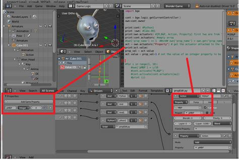 python tutorial blender game engine game engine controlling bge properties with python