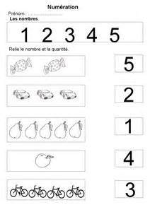 Maternelle : exercices sur les nombres - preprof