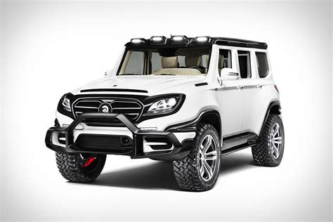 mercedes benz jeep custom ares x raid suv uncrate