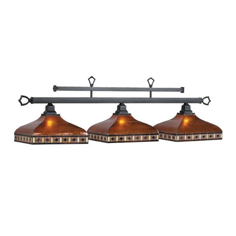 Pool Table Lighting by Ram Gameroom Products Tah B56 3 Light Tahoe Billiard Pool Table Light Atg Stores