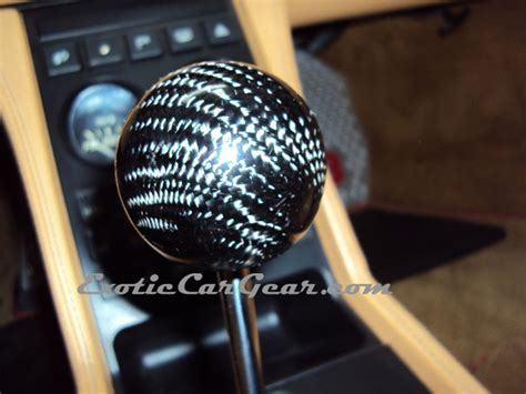 f430 348 carbon fiber gear shift knob