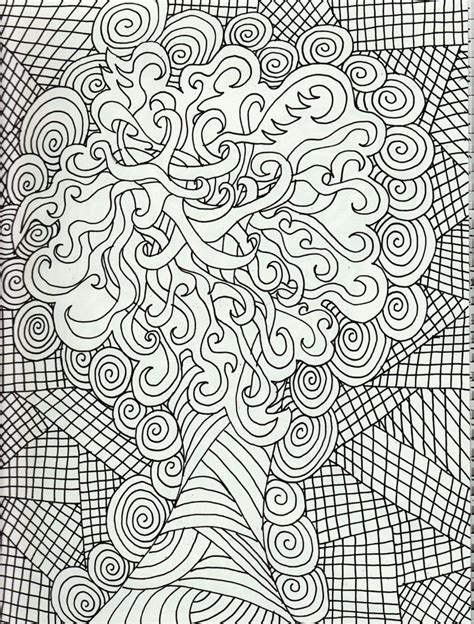 Free Coloring Pages Of Detailed Flowers Coloring Books