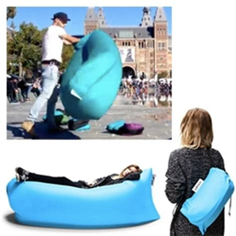 Air Filled Chair by Lamzac An Air Filled Hammock Like Seat That You Fill By