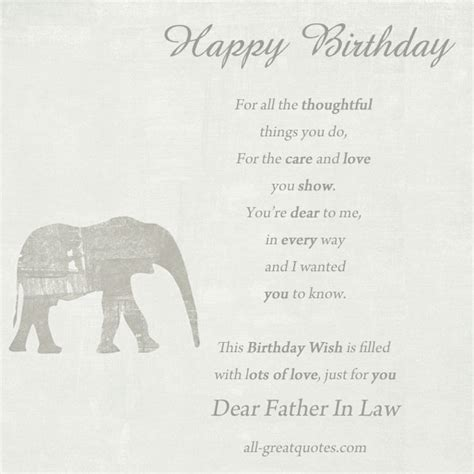 in laws father in law birthday quotes quotesgram