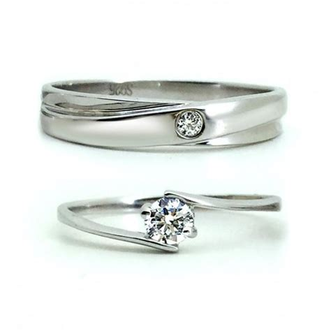 engraved his and hers promise rings couples bands set for