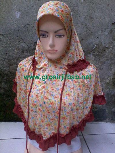 Jilbab Instan Blok F Tanah Abang jilbab bunga kecil grosir jilbab murah