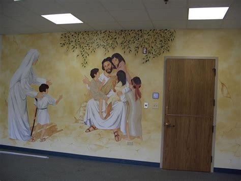 church nursery murals