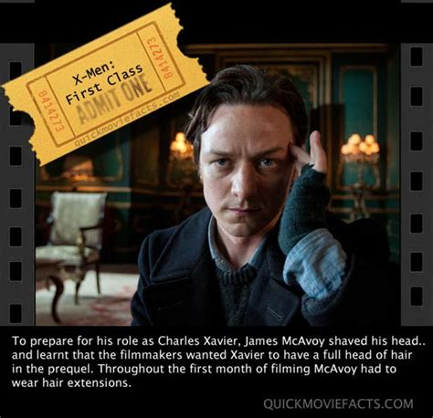 james mcavoy funny quotes xmen first class movie facts dump a day