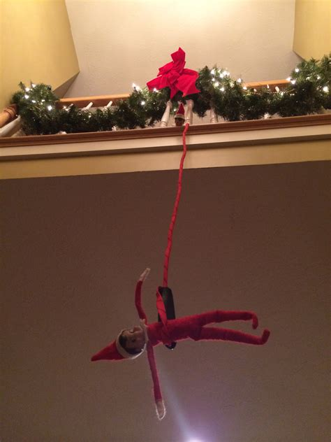 Ideas For On The Shelf by On The Shelf Bungee Jumping Bigdiyideas