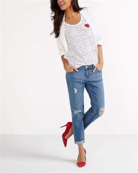 Sleeve Striped T Shirt sleeve striped t shirt reitmans