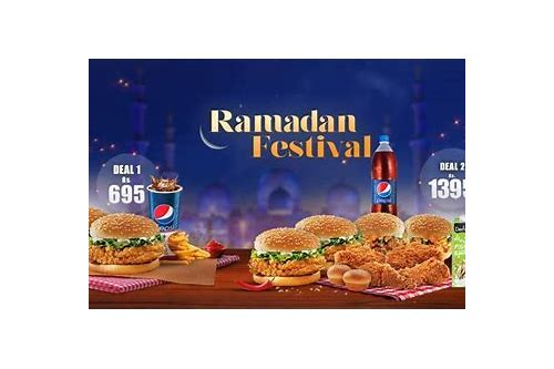 kfc iftar deals 2018 rawalpindi
