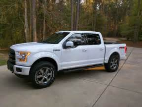 Ford F150 White 15 Oxford White Fx4 Bfg Level Ford F150 Forum