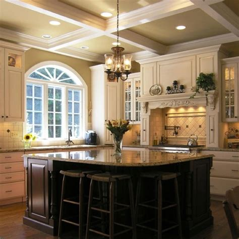 kitchen crown molding ideas crown molding new house kitchen ideas