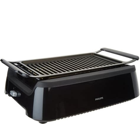 Phillips Grill Electric philips indoor smoke less grill with infrared heat technology page 1 qvc