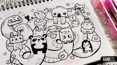 doodle animal drawings kawaii animals hello doodles easy and kawaii drawings