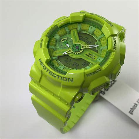 Casio G Shock World Resist Green Premium Water Resist s neon green casio g shock s series gmas110cc 3