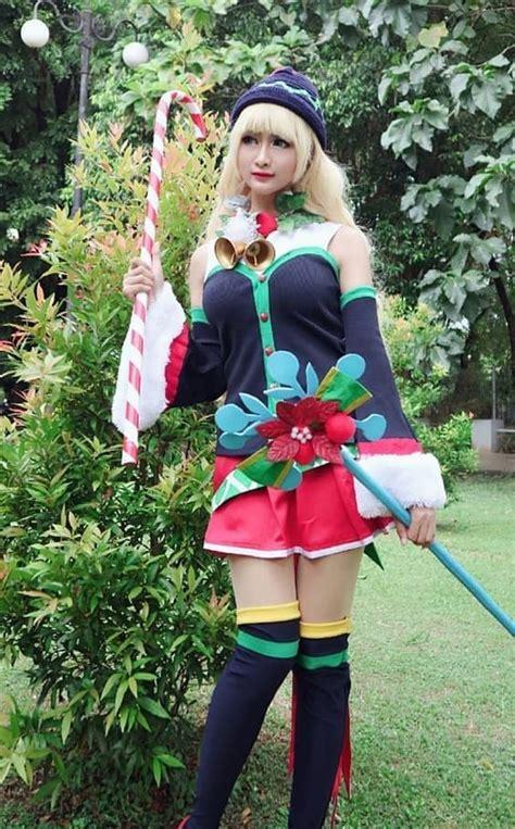 cosplay mobile legends permainan kostum kostum cosplay wanita