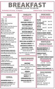 menu for brunch breakfast menu dot s restaurant wilminton vt