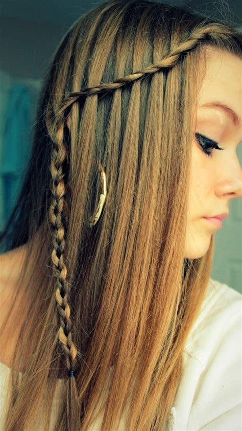 easy hairstyles with braids 10 best waterfall braids hairstyle ideas for long hair