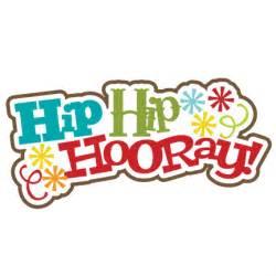 hip hip hooray clipart