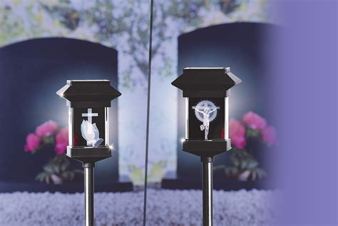 Solar Memorial Light 7 Designs Memorial Solar Lights