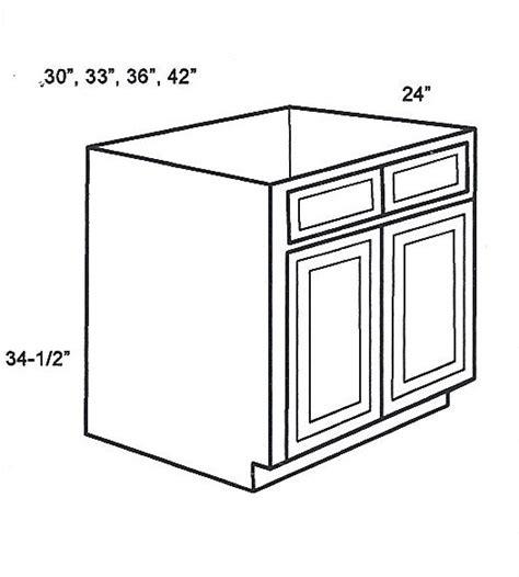Kitchen Cabinet Styles Shaker sb36b base cabinets sink base cabinet sienna rope kitchen