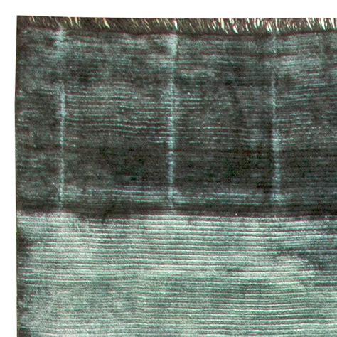 rug dyeing dyed rug green stripe dye rug n11301 by doris leslie blau