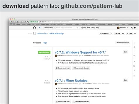 pattern lab github the what why of pattern lab