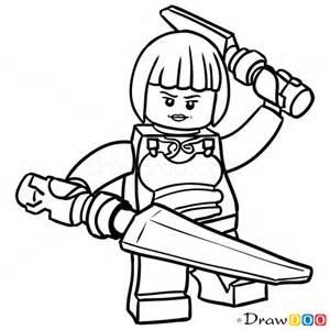 How to draw nya lego ninjago march 18 2016