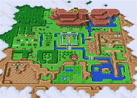 legend of zelda bomb map the legend of zelda a link to the past game giant bomb