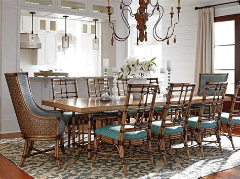 tommy bahama dining room set tommy bahama twin palms traditional casual dining room set