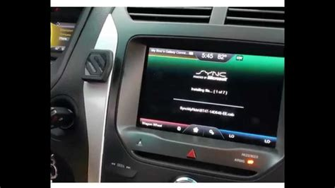 ford sync update how to update myford touch sync software