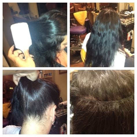 before and after sew in pics half sew in weave before and after www pixshark com