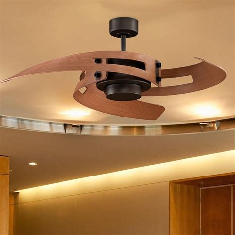 curved blade ceiling fan natural woven gilded mirror ceiling fans ceilings and fans