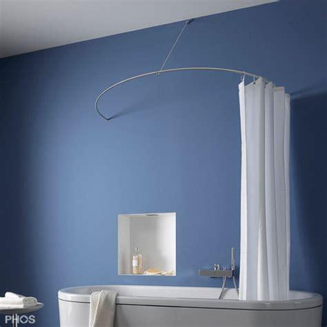 stange duschvorhang badewanne duschvorhang fur runde badewanne speyeder net