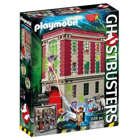 playmobil  ghostbusters fire hq playmobil uk