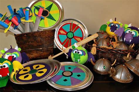 viking themed games viking and dragon themed birthday party via kara s party