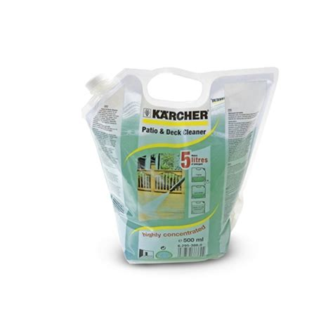 Patio Deck Cleaner karcher patio deck cleaner 500ml concentrate tools