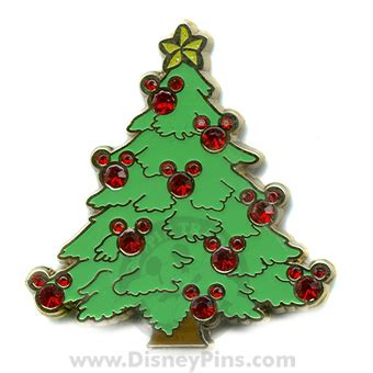 your wdw store disney christmas tree pin mickey mouse
