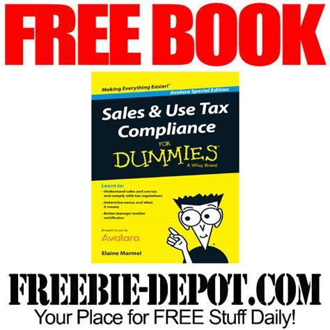 Sales Tax Lookup By Address Free Book Sales Use Tax Compliance For Dummies Freebie Depot